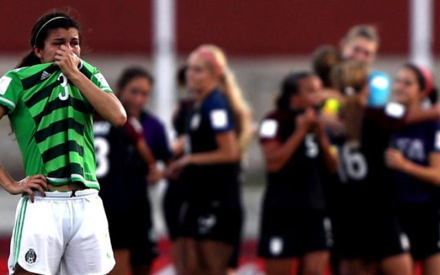 EE.UU. elimina a México de Mundial Femenil Sub20