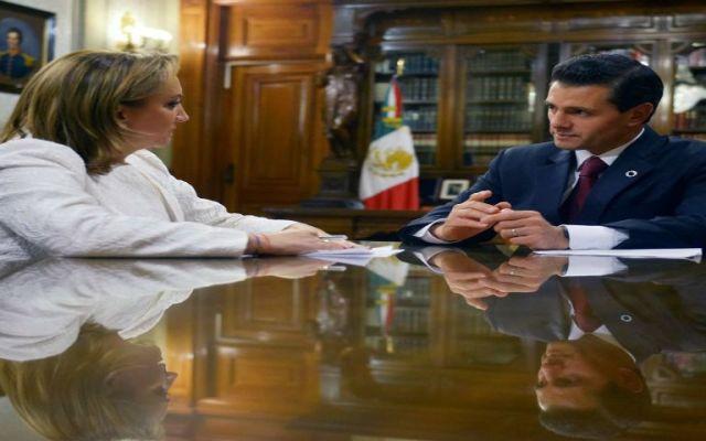 EPN instruye a Claudia Ruiz-Massieu para defender a inmigrantes mexicanos en EE.UU. - Foto de @PresidenciaMX