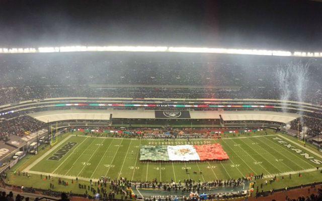 NFL venderá más boletos para el Nueva Inglaterra vs Oakland en el Azteca - Foto de @nflmx