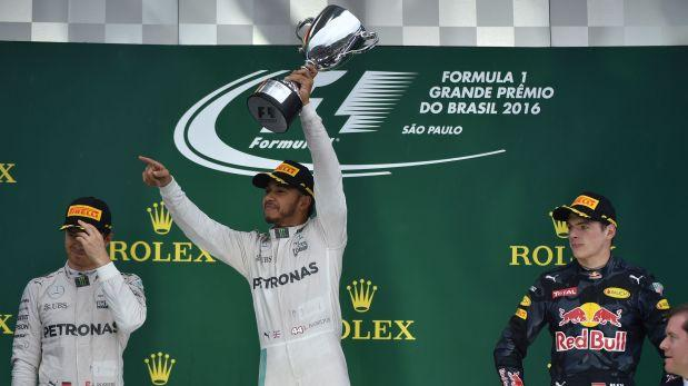 Hamilton gana el Gran Premio de Brasil