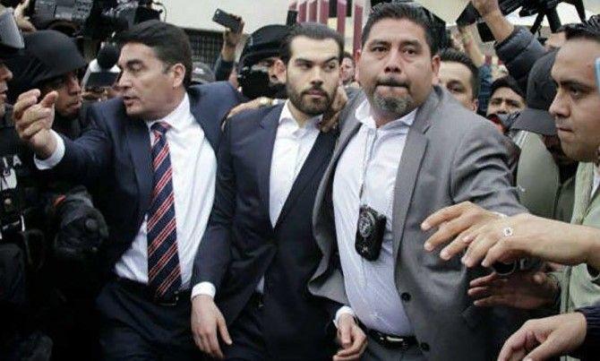 Ingresan a hijo de Padrés al penal del Altiplano - El hijo de Guillermo Padrés. Foto de internet