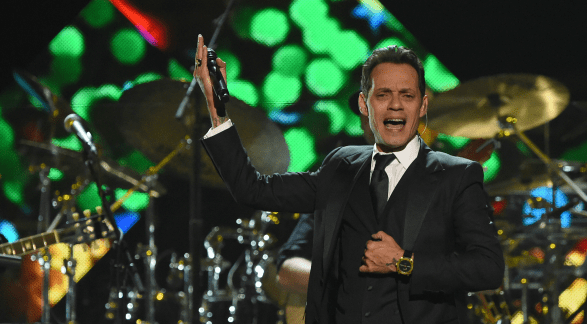 Reconoce el Grammy a Marc Anthony como Persona del Año