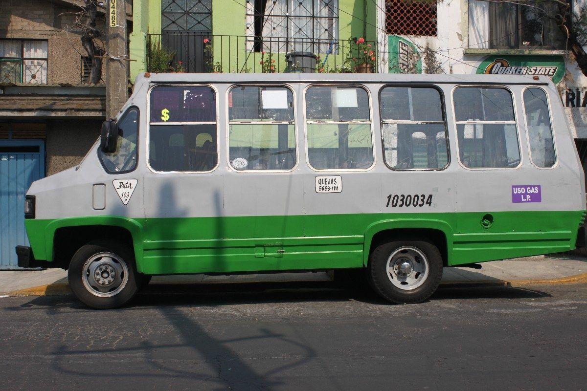El microbús es el transporte público con mayor número de denuncias. Foto de Diario de México