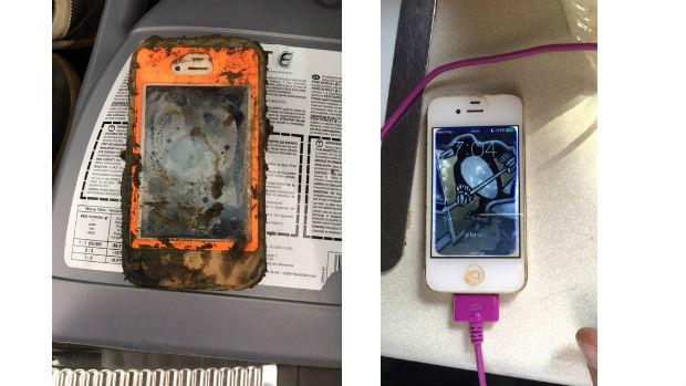 El iPhone 4 que permaneció en el agua un año y después funcionó