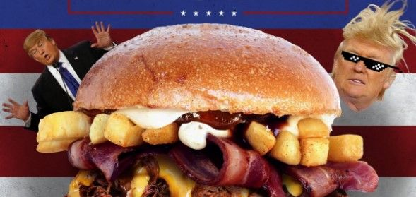 Burger King añade a su menú la Trump Burger - Foto de Internet