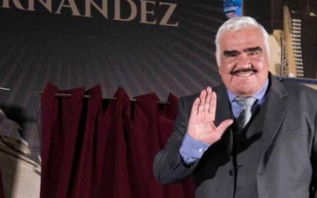 Vicente Fernández pidió no recibir homenajes tras su muerte - Foto de EFE