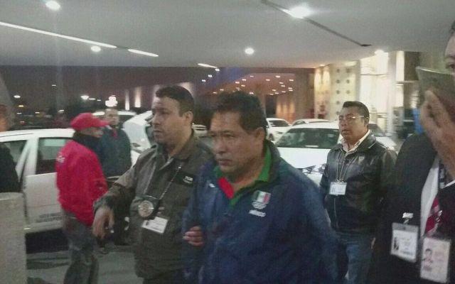 Video: detienen a presidente de Federación Mexicana de Atletismo - Foto de @CarlosLoret