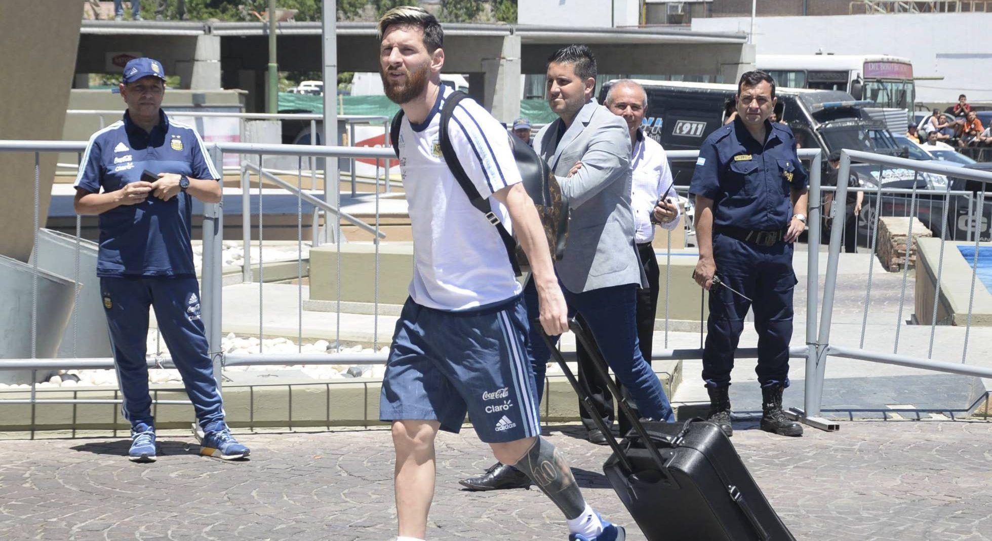 Lionel Messi. Foto de Clarín