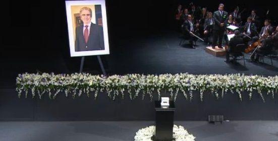 Realizan homenaje a Rafael Tovar y de Teresa en el CENART