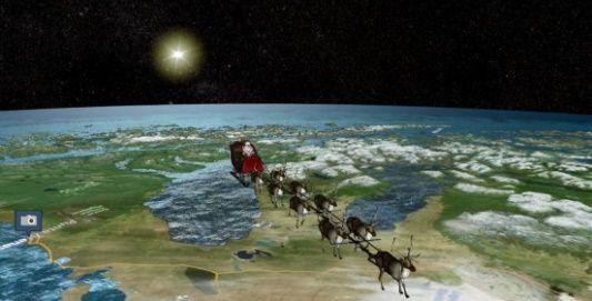 Cómo surgió el rastreador de Santa Claus