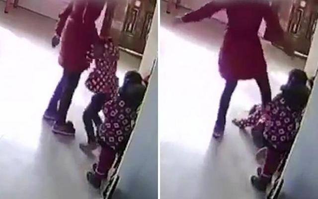 Video: maestra golpea a sus alumnas por no saber bailar