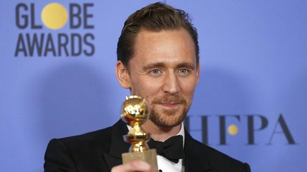 Tom Hiddleston se disculpa por su discurso en los Globos de Oro - Foto de Reuters
