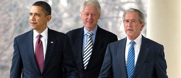 Revelan las cartas que Clinton le escribió a Bush y Bush a Obama