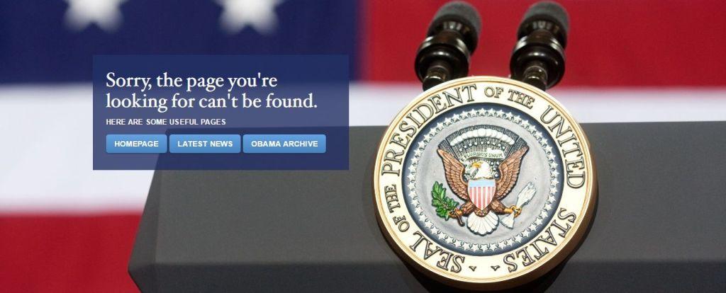 Eliminan la página web de la Casa Blanca en español