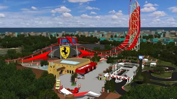 Ferrari abrirá un parque de diversiones en España - Foto de Internet