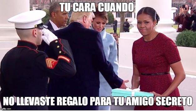 El regalo que llevó Melania Trump a Michelle Obama