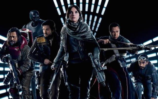 Rogue One continúa en el primer puesto en taquillas