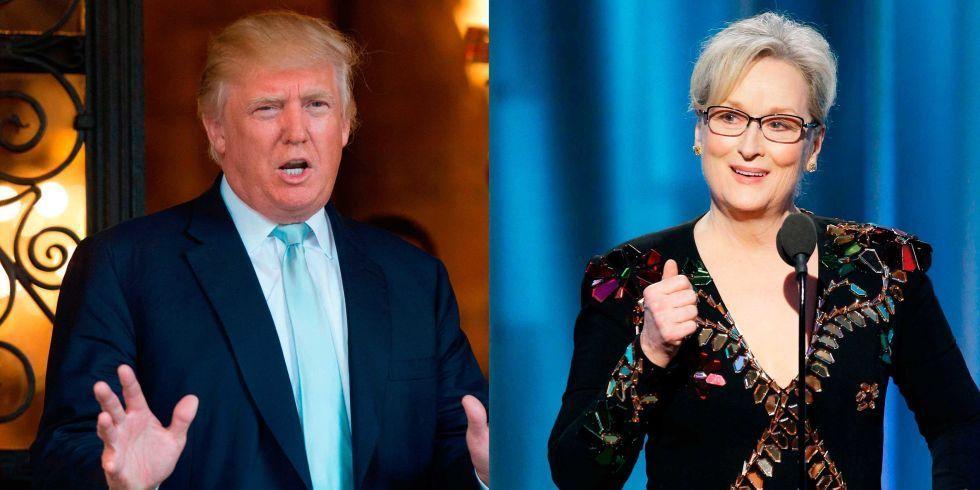 Trump responde a críticas de Meryl Streep - Foto de Elle