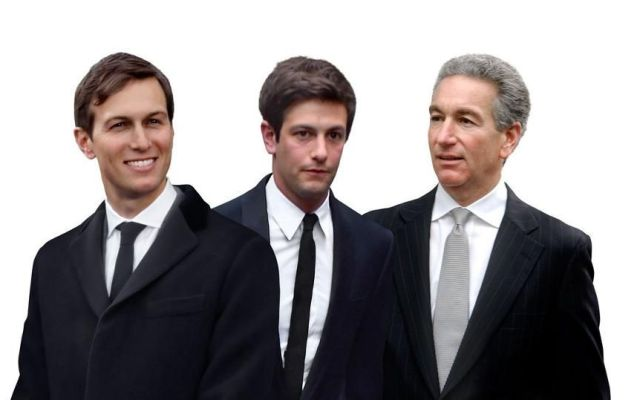 La multimillonaria fortuna de la familia del yerno de Trump - Jared, Josh y Charles Kushner. Foto de Forbes