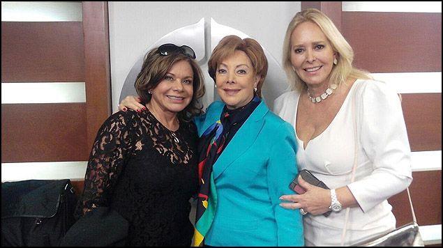 """Jacqueline Andere, Margarita Gralia y María Sorte presentan """"Mujeres de ceniza"""" - Foto de Radio Fórmula"""