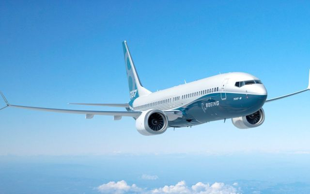 Pilotos de Boeing vuelan una creativa ruta para probar el 737 MAX