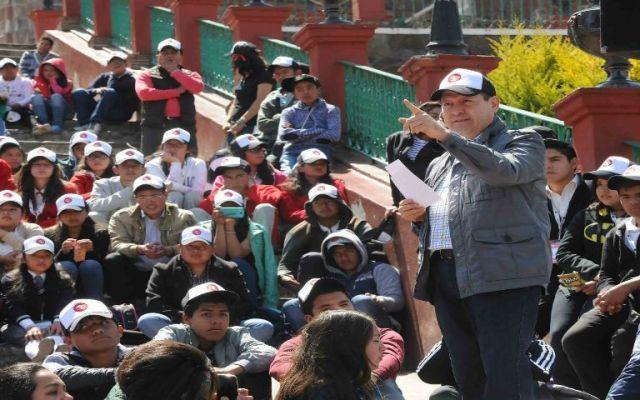 Educación, cultura y valores, herramientas contra la inseguridad: Eruviel Ávila