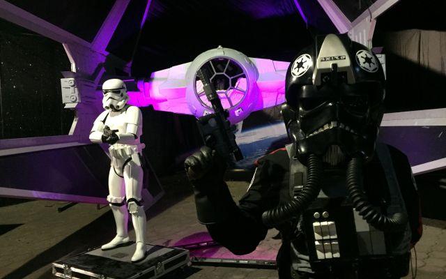 Una exhibición para fanáticos de Star Wars - Foto de Carlos Tomasini