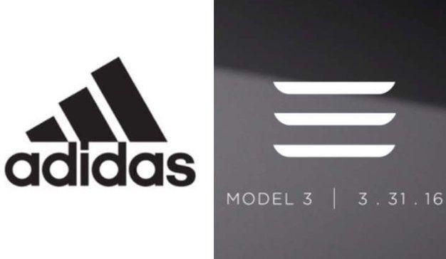 Tesla cambia su logo ante conflicto con Adidas