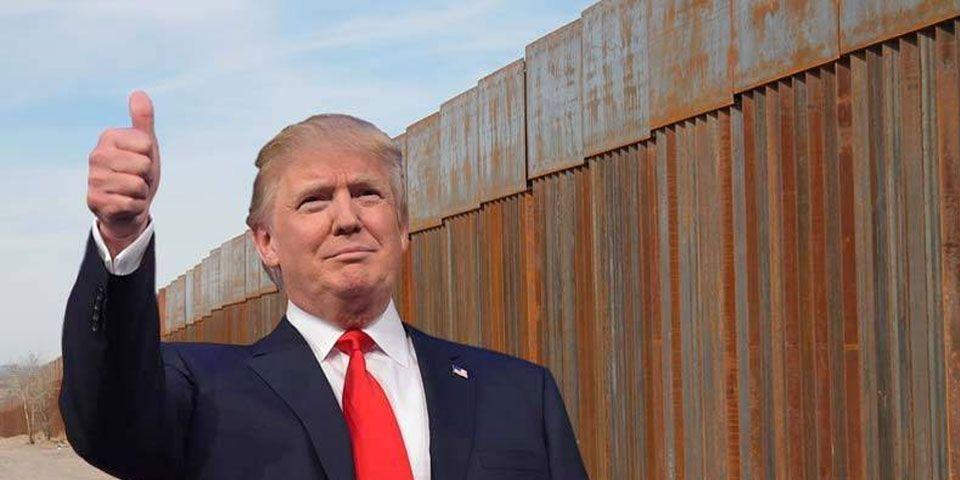 Resultado de imagen de Trump recorta pedido de fondos para muro fronterizo