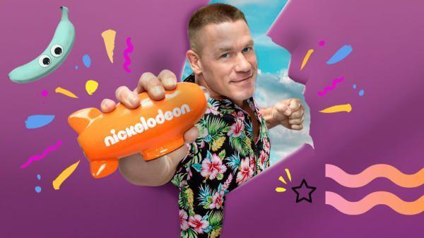 Latinos nominados a los Kids´Choice Awards de EE.UU. - John Cena apareciendo en el canal infantil de Nickelodeon. Foto de Nickelodeon