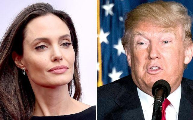 Angelina Jolie ataca la política migratoria de Trump - Foto de Internet