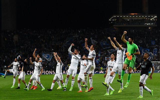 Juventus se impone de visitante ante el Porto - Foto de @LigadeCampeones