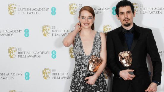 'La La Land' arrasa en los premios BAFTA