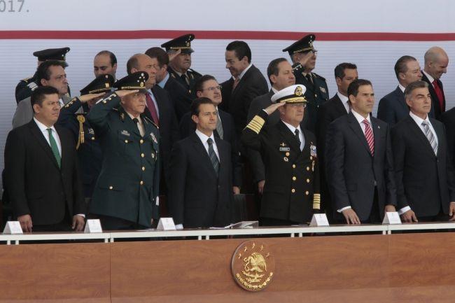"""""""Inadmisibles descalificaciones contra las Fuerzas Armadas"""": Peña Nieto - Foto de Notimex/Carlos Pacheco"""
