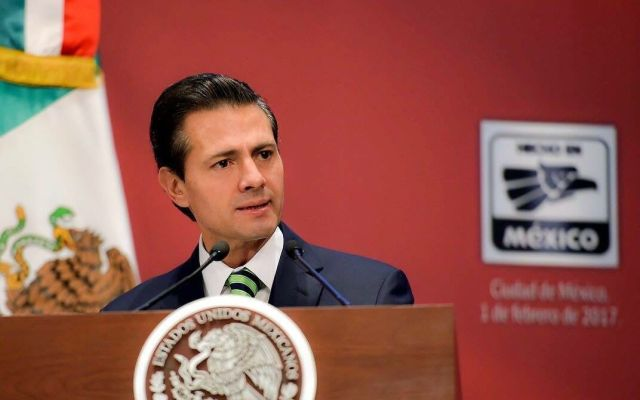 Peña Nieto envía sus condolencias a familiares de víctimas de la explosión en Puebla - Foto de @PresidenciaMX