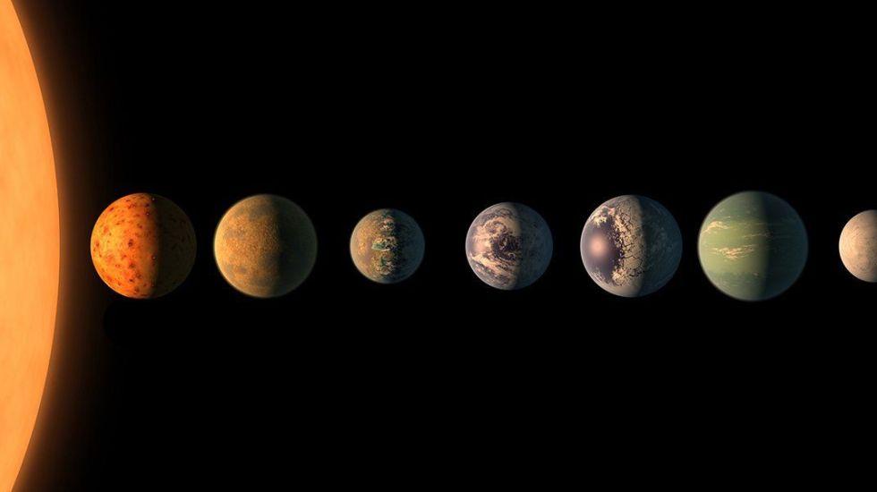 La NASA descubre sistema solar con planetas similares a la Tierra - Foto de NASA/JPL-Caltech