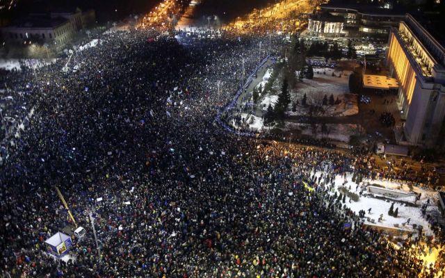 Protestas en Rumania por despenalización de la corrupción