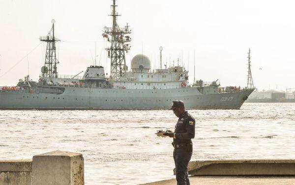 Barco espía ruso patrulló a 48 kilómetros de las costas de EE.UU. - Foto de Internet