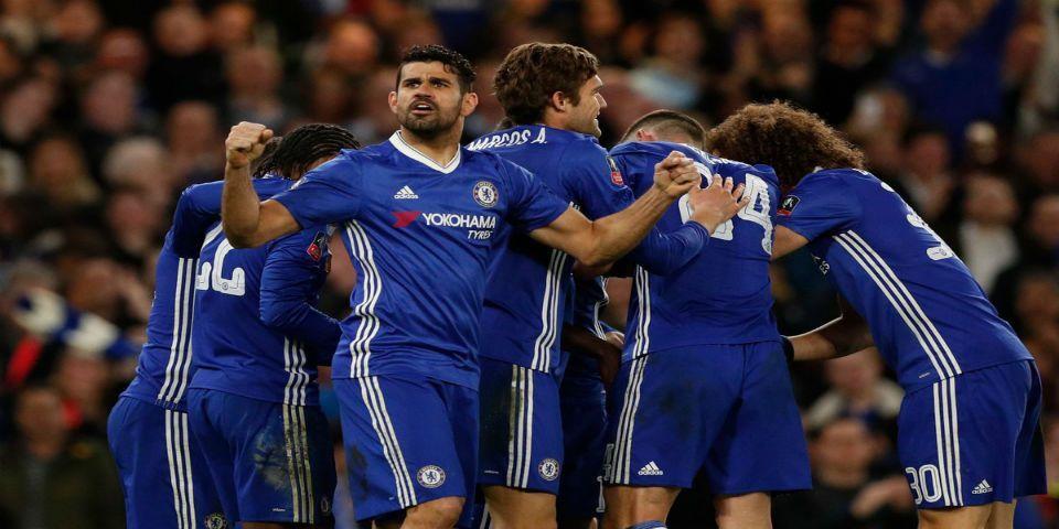 Chelsea avanza a semifinales de la FA Cup - Foto de Twitter