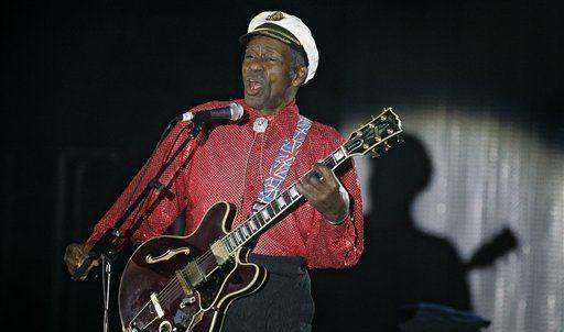 Lanzarán nuevo disco de Chuck Berry tras su muerte - Foto de AP