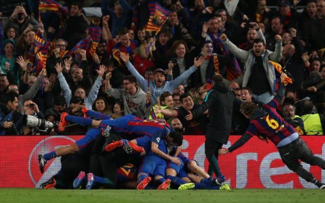 UEFA podría sancionar al Barcelona por invasión del campo - Foto de Reuters