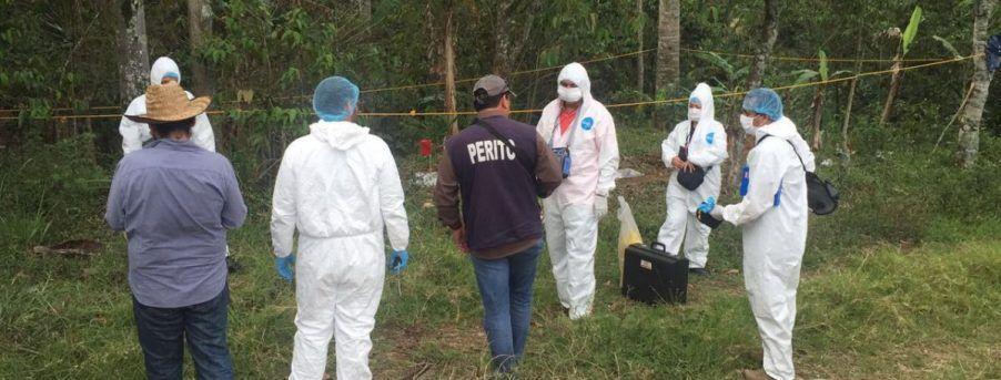 Encuentran restos humanos en Morelos