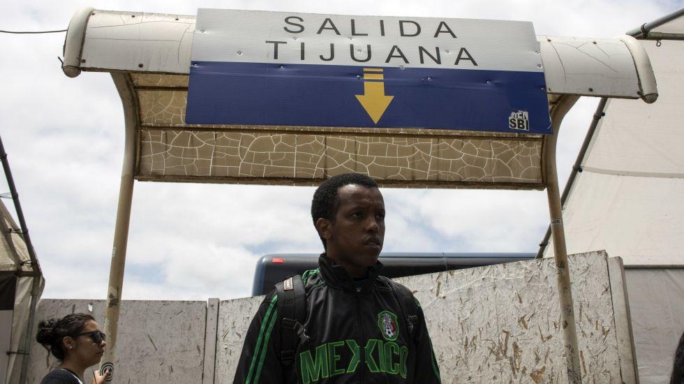 Entre 15 mil y 20 mil haitianos viven en Baja California - Foto de Guillermo Arias. AFP y Getty Images