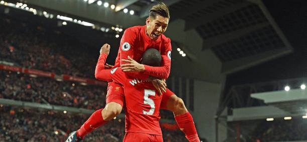 Liverpool vence 3-1 a Arsenal y lo supera en la tabla