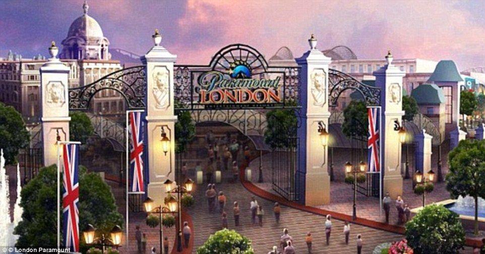 Paramount planea construir parque temático en el Reino Unido