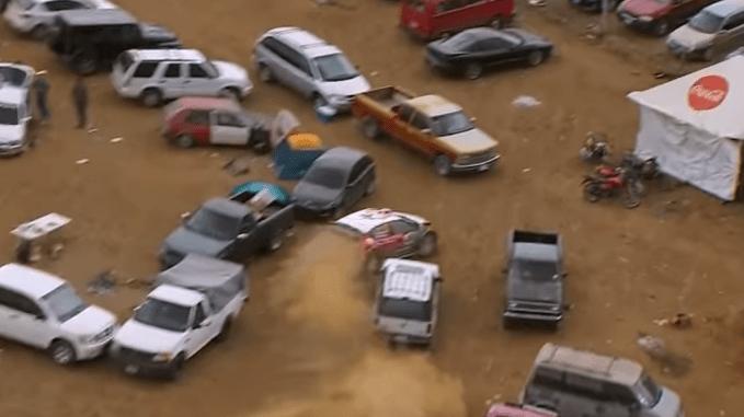 Video: Espectacular final del rally de México - Captura de pantalla