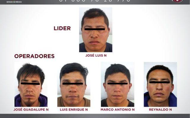 Capturan a banda de secuestradores en el Estado de México