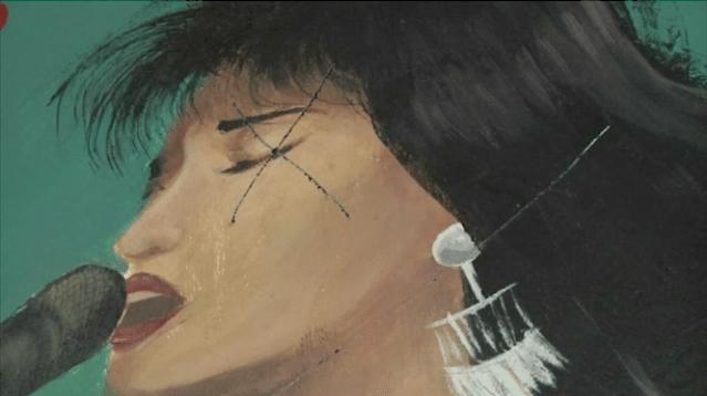 Vandalizan murales de Selena y Frida Kahlo en Texas - Foto de NBC
