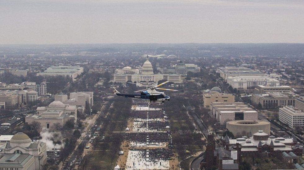 Trump pagó 38 millones de dólares en 2005 en impuestos: La Casa Blanca - Republican presidential candidate Donald Trump speaks at a post Republican Convention campaign event in Cleveland, Ohio, July 22, 2016.  REUTERS/Carlo Allegri
