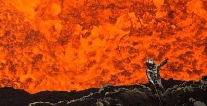 Google Street View muestra imágenes al interior de un volcán - Foto de Internet